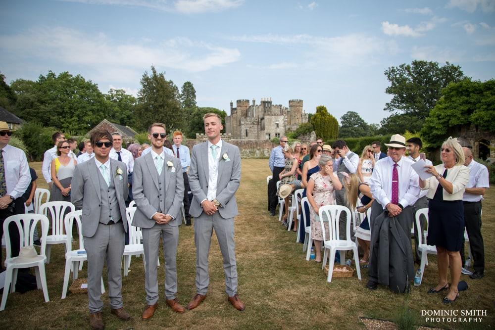 Wedding ceremony at Wadhurst Castle 2