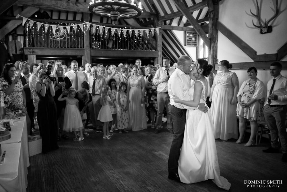 First Dance at Blackstock Country Estate 2
