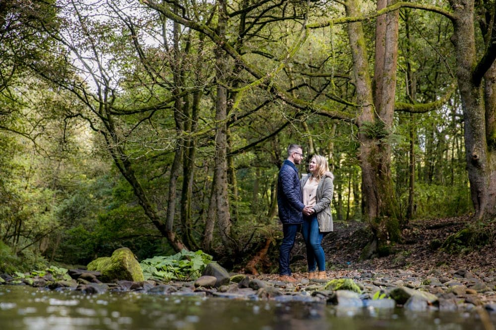 Jumbles Country Park Engagement