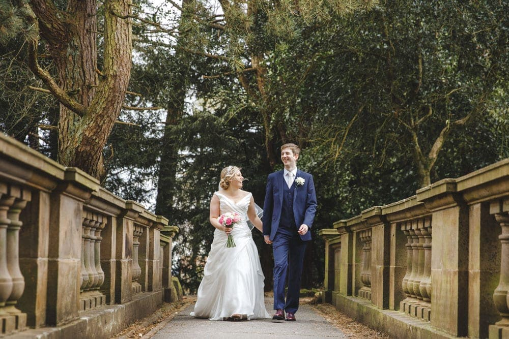 Williamson Park Lancaster a Bride & Groom