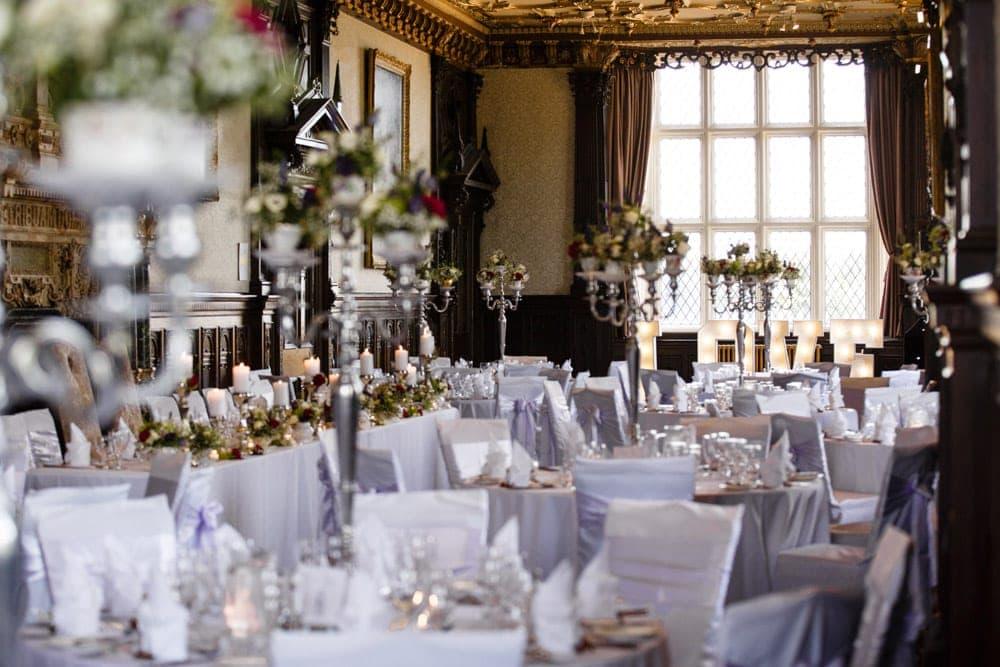 Crewe Hall Wedding Breakfast