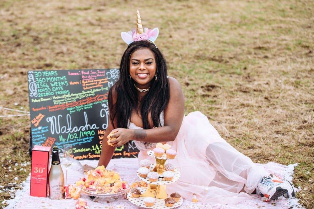 30th Birthday Cake Smash Photo Session
