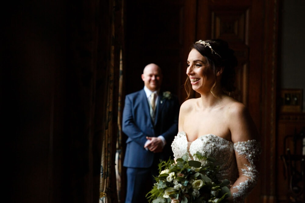 Joanne and Kevin at Soughton Hall