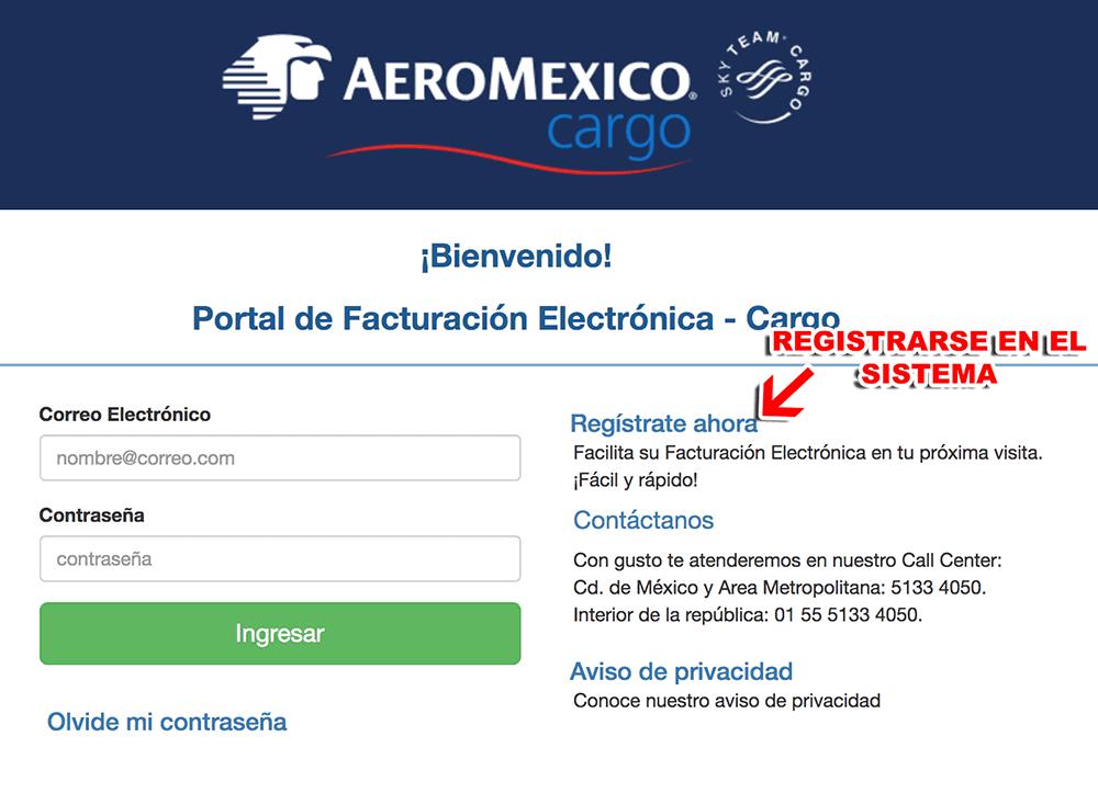AEROMEXICO CARGO 0518 FACTURACION 0