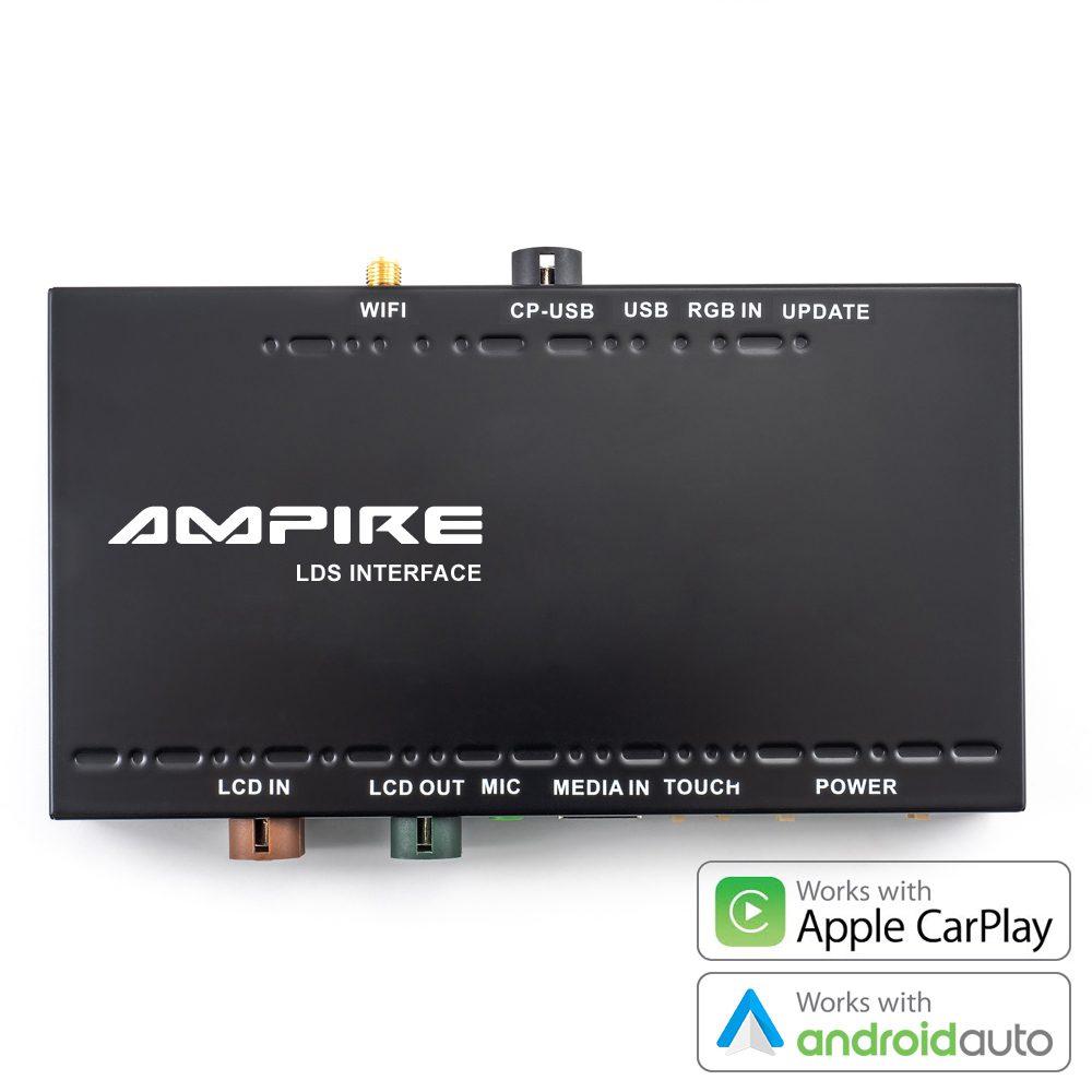 Carplay Integration Mercedes Ampire Hardware Nachrüstung