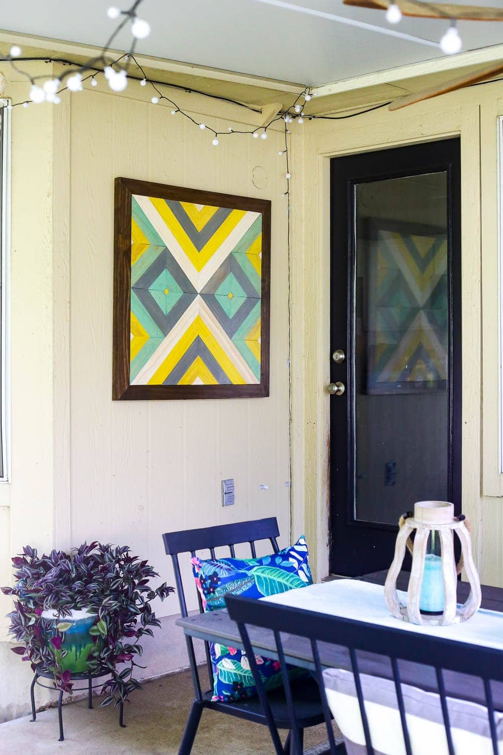 Easy Diy Wall Art For Patio