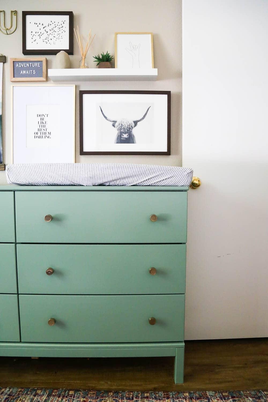IKEA dresser hack