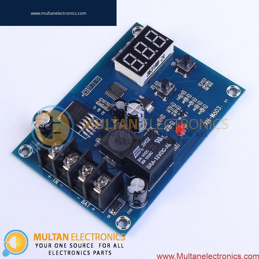 XH-M603 12-24V Charge Control Module Battery Protection Board in Pakistan