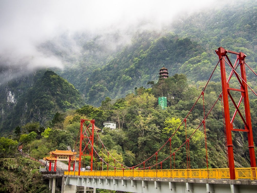 Taroko Gorge in winter