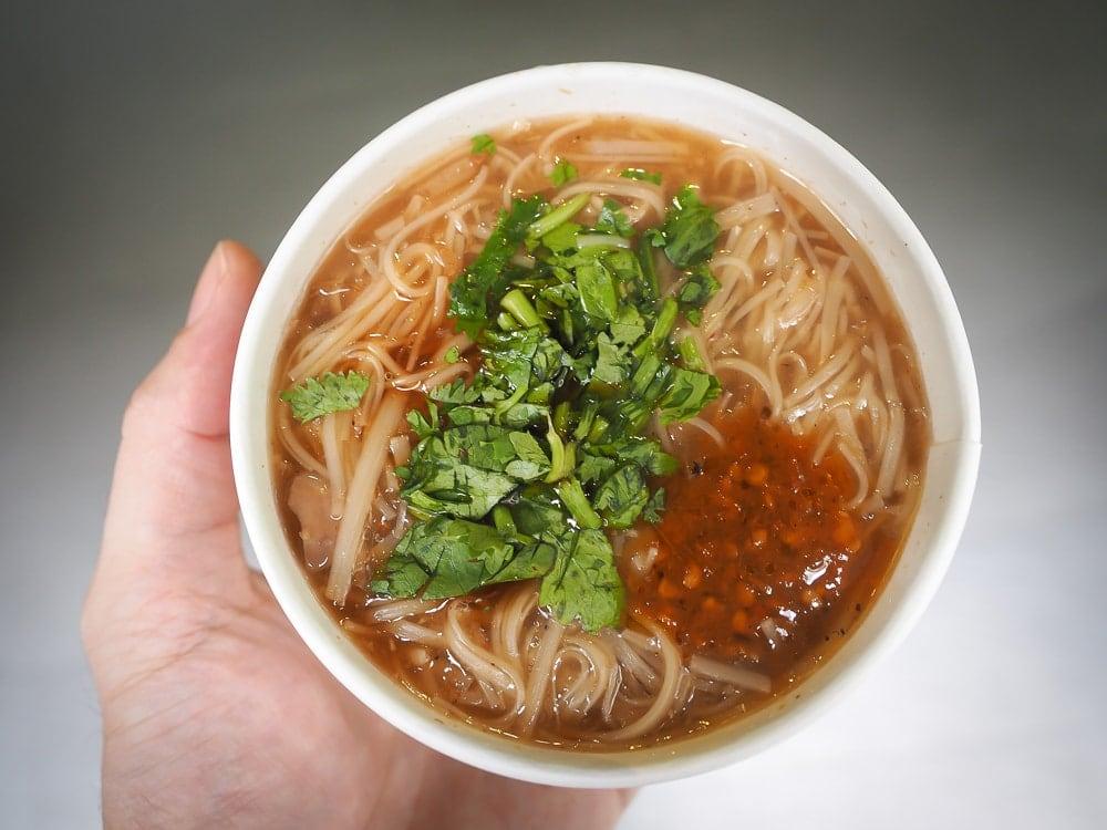 Mee sua (mian xian) at Ay-Chung (A zong) Flour Rice Noodles Ximending