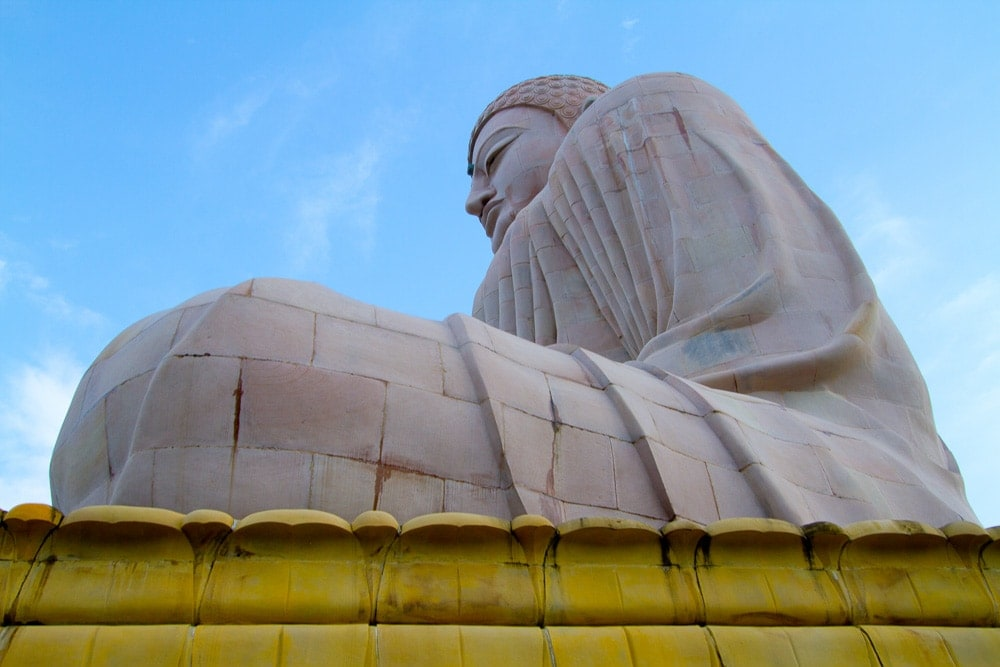 Pilgrimage sites in India: Bodh Gaya Buddha