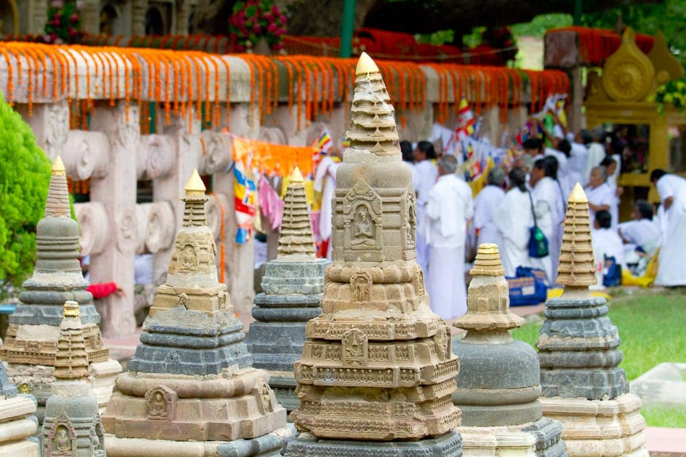 Pilgrimage sites in India: Bodh Gaya Mahabodhi Temple