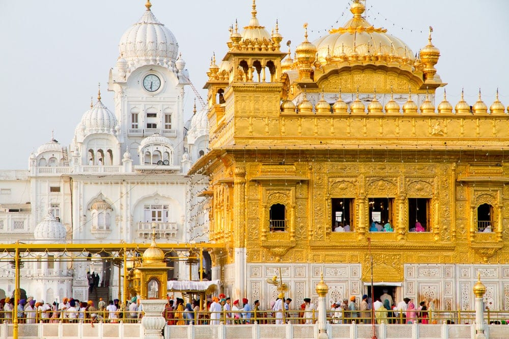 Pilgrimage sites in India: Golden Temple, Amritsar