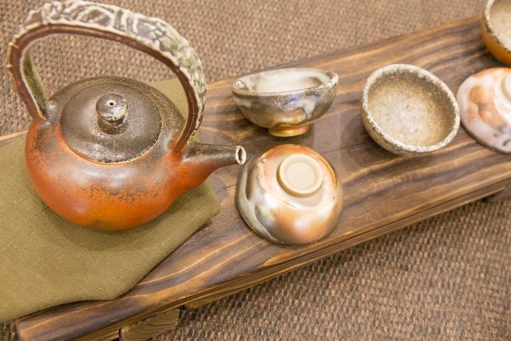 Tea set from Yingge, Taiwan