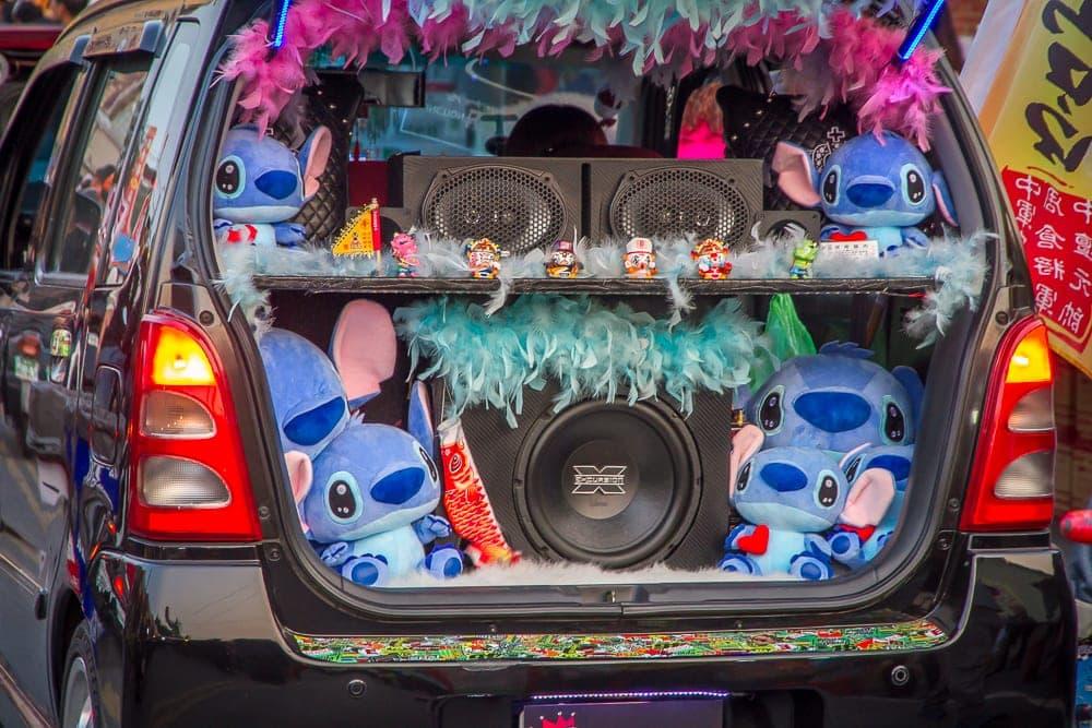 Car in Yanshui
