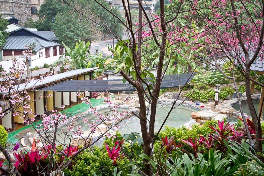 Millennium hot spring Beitou (aka Beitou public hot spring)