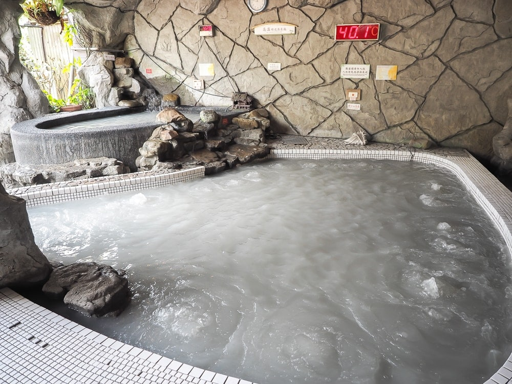 Guanziling mud hot spring, Taiwan