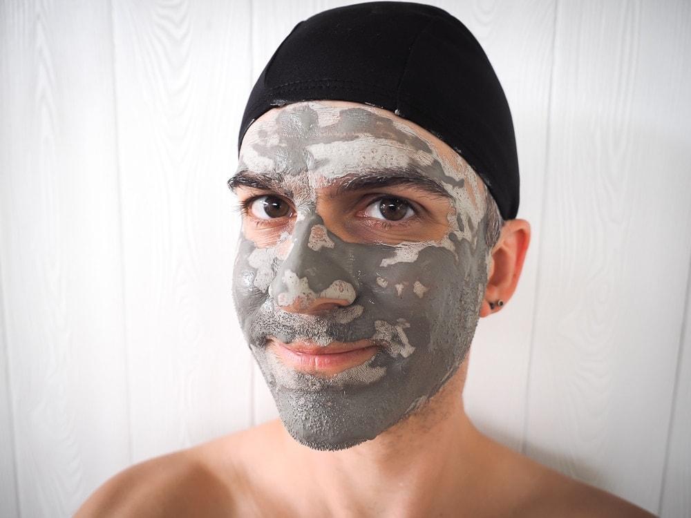Mud face mask, Guanziling hot spring, Taiwan
