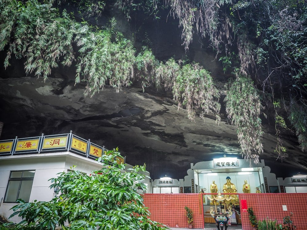 Shuilian Cave, Lion's Head Mountain