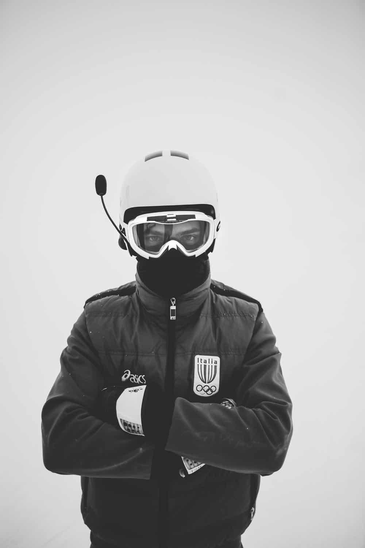 fotografo reportage sportivo sci abbigliamento tecnico Dainese e preparazione atletica olimpionici