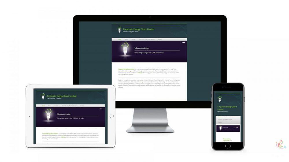 CED Responsive Website design ipswich suffolk