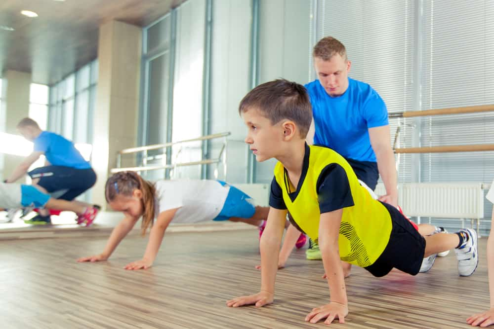 Kids in a Gym