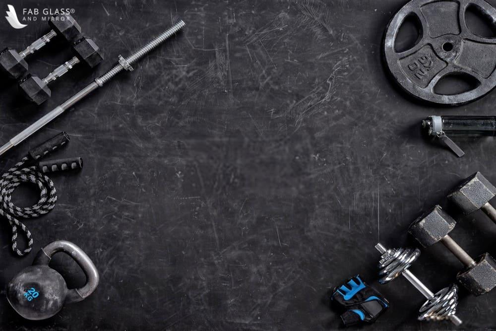 home gym barbell set