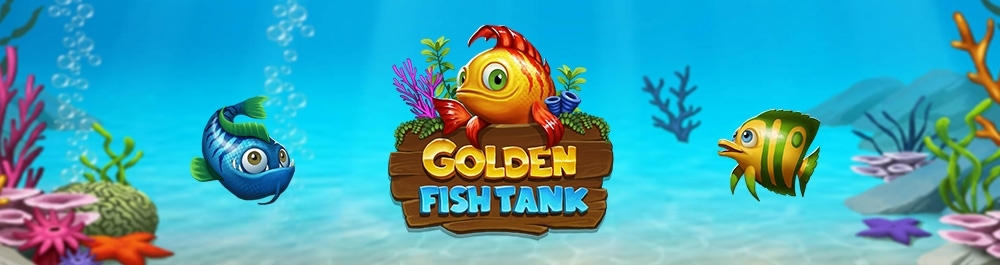 golden fish tank banner video slot Yggdrasil