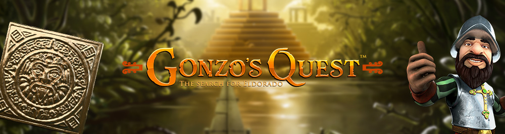 gonzo's quest banner video slot netent