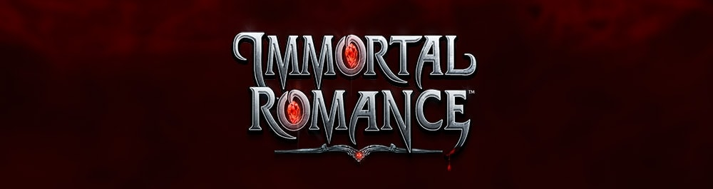 immortal romance banner video slot Microgaming