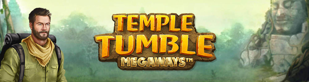 temple tumble banner video slot relax gaming