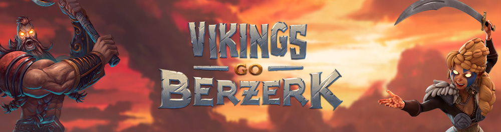 vikings go berzerk banner video slot yggdrasil