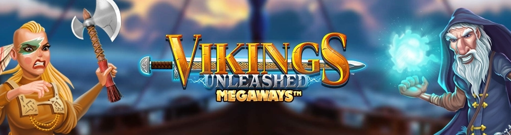 vikings unleashed Megaways banner video slot blueprint