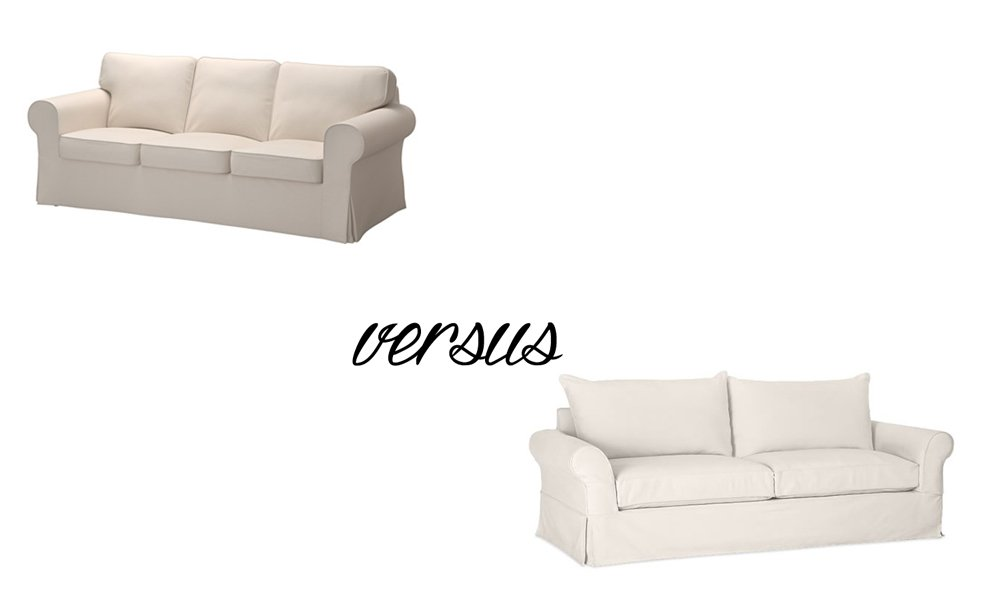 10 Tips on How to Choose a Couch: Pottery Barn versus Ikea Sofa featured by top US lifestyle blogger, Sengerson