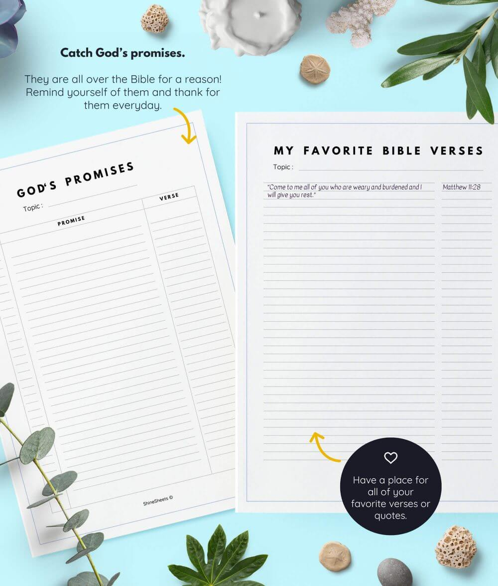 graphic regarding Printable Bible Journal Pages referred to as Bible Magazine Printable / 10 Web pages