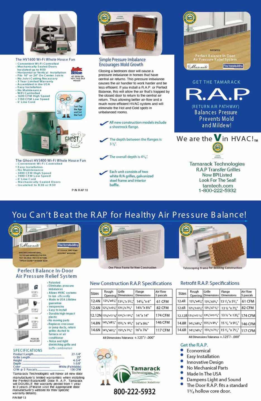 RAP trifold brochure