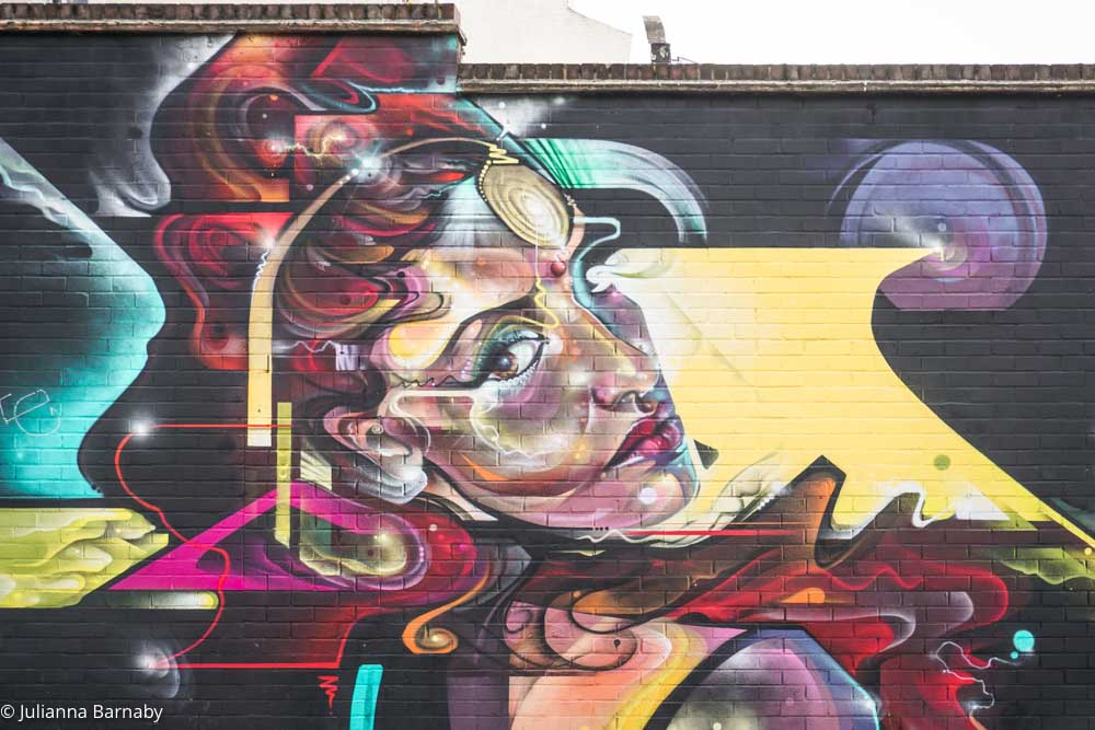 Street Art in Brixton by Mr Cenz