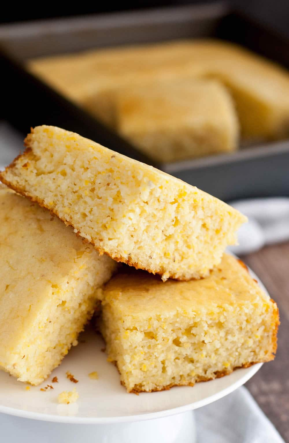 Fluffy Sweet Cornbread 3