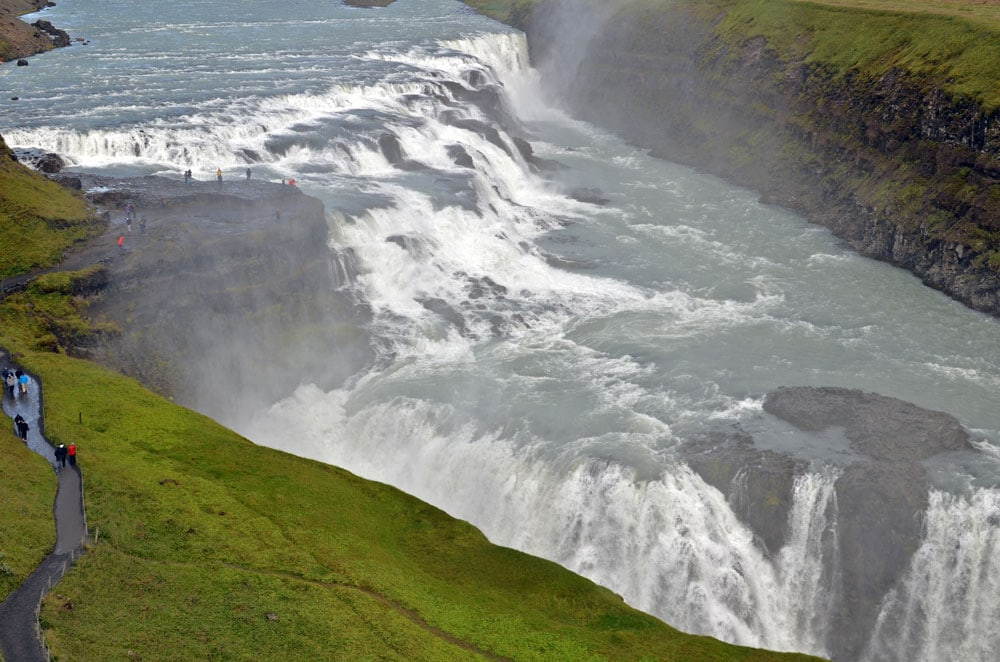 Gulfoss, south iceland road trip