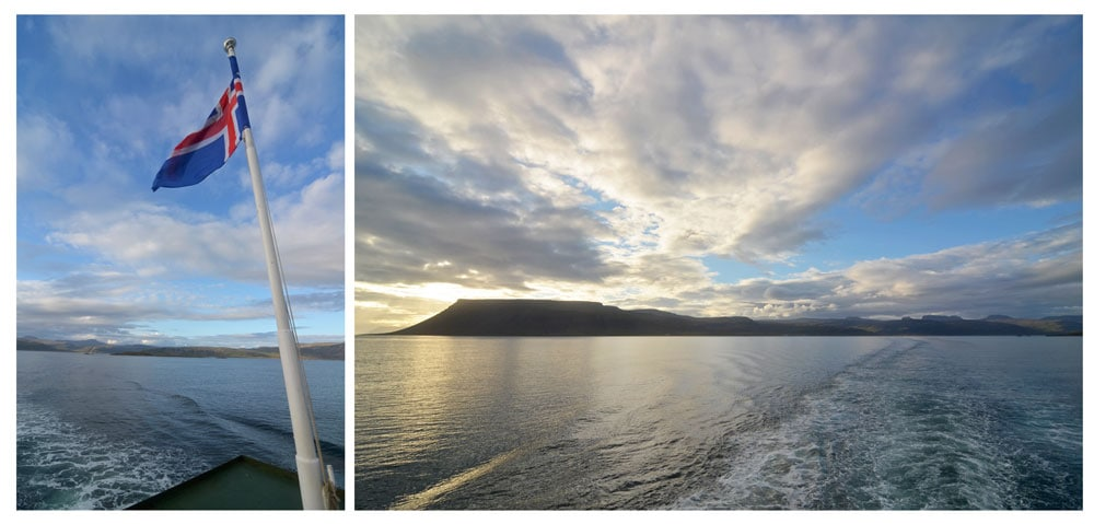 Ferry from West Fjords