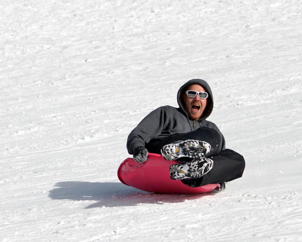 SnowSledding