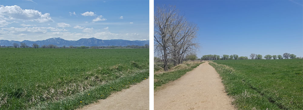 Trails near Teller Farm Trail in Boulder, Colorado
