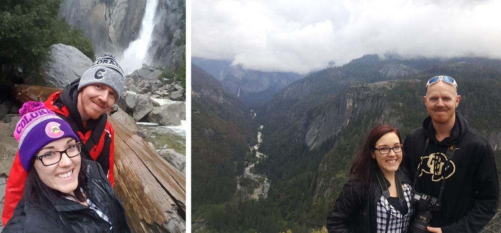 Yosemite Selfies