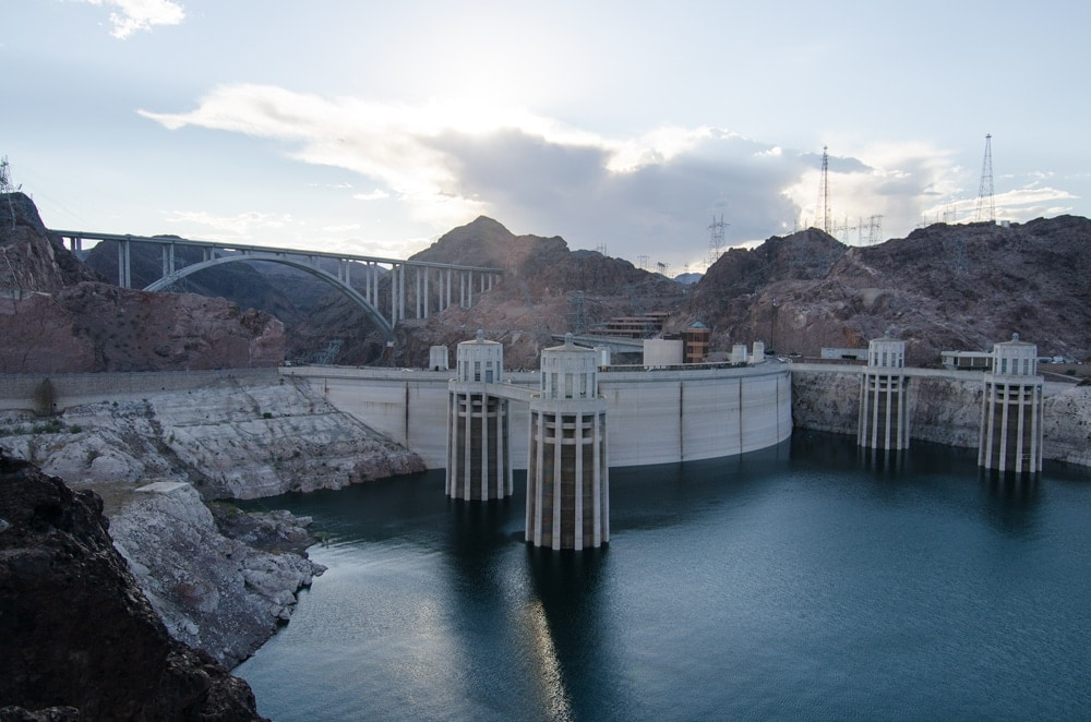 Hoover Dam is a great visit to get off the strip in Las Vegas