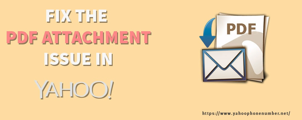 Fix the PDF attachment issue in Yahoo email