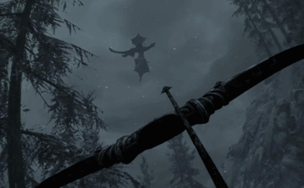 archery in Skyrrim