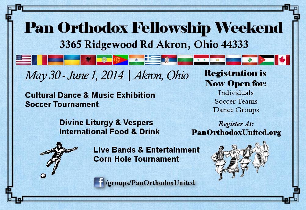 Pan Orthodox Weekend