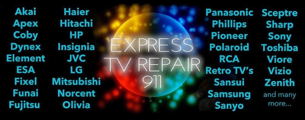 TV Repair All Makes & Models
