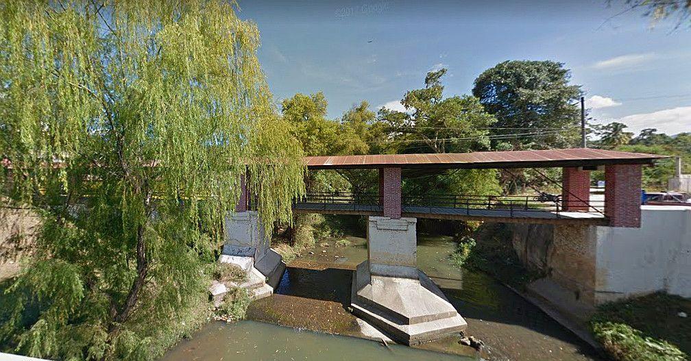 Puente de la Libertad en Salamá