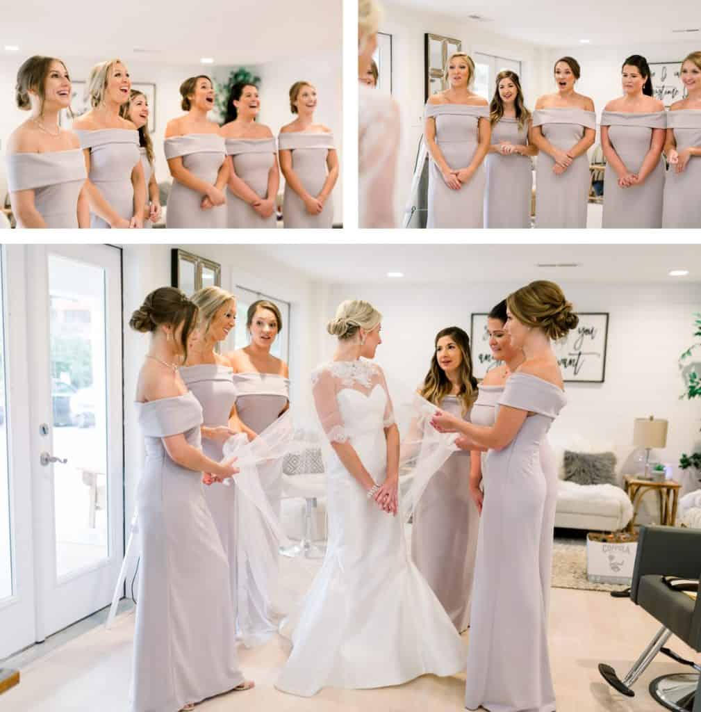 Forest Park Golf Course Wedding Photography, Getting Ready in a Bridal Suite